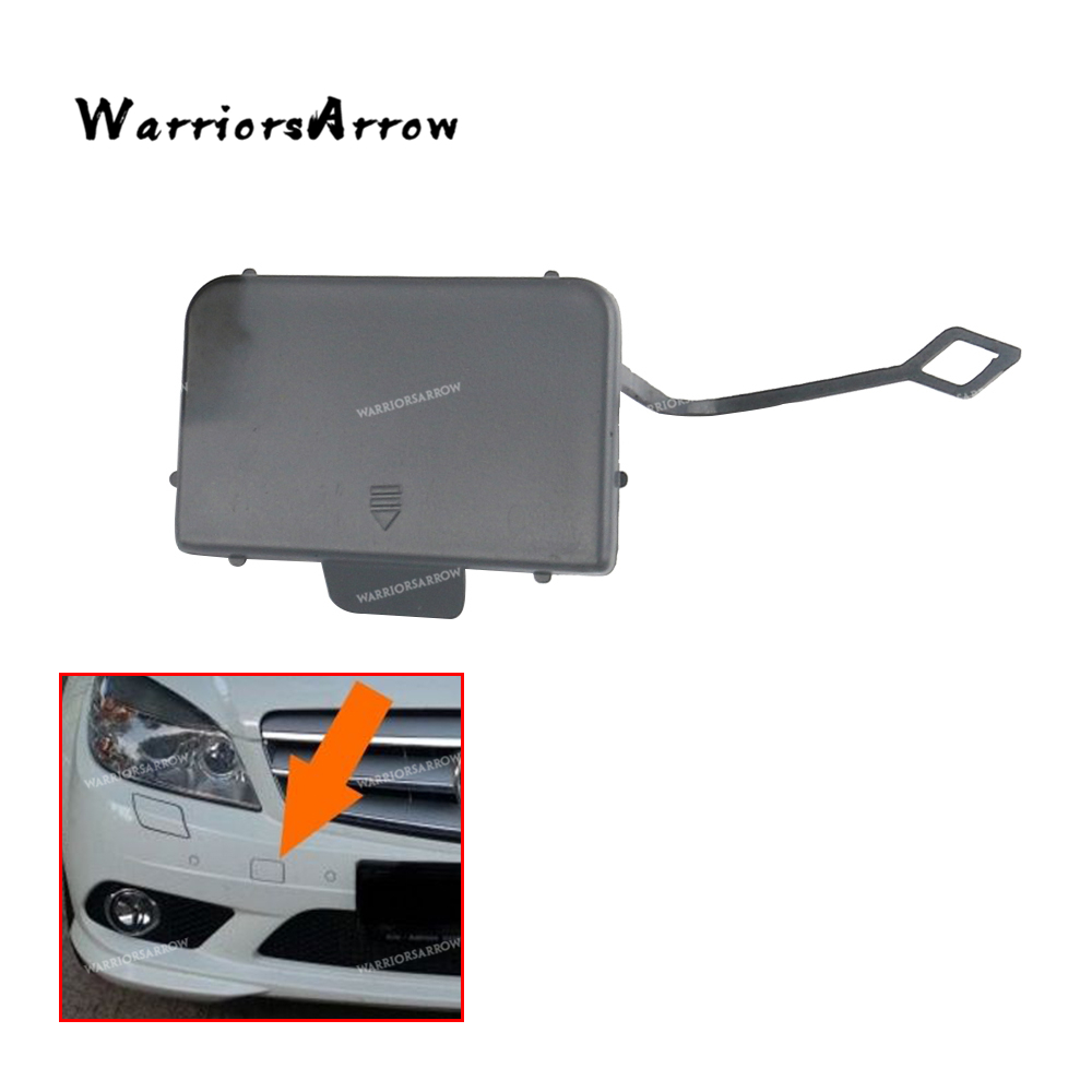 Front Bumper Tow Hook Cover Eye Cap For Mercedes W205 C300 C400 C63AMG