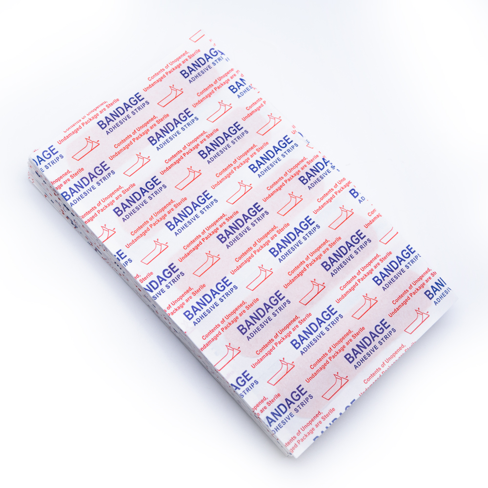Купить с кэшбэком 150Pcs Band Aid Wound Dressings Sterile Hemostasis Stickers First Aid Bandage Medical Adhesive Plaster Strips Health care   Z721