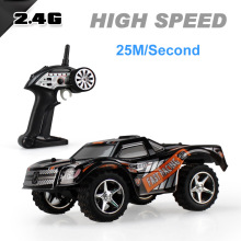 2.4G High Speed 25M/S Racing Drifting Off Road 5 Speed Chaning Remote Control Car Toys Gift