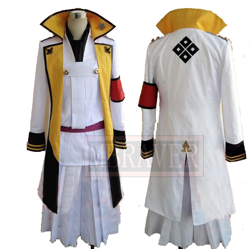 Free shipping Hakuoki Chikage Kazama Cosplay Costume Kimono Suit Custom made Any Size