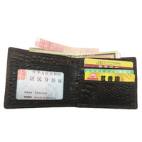 Genuine Leather Men Wallet Travel Short Design Men Purse Wallets