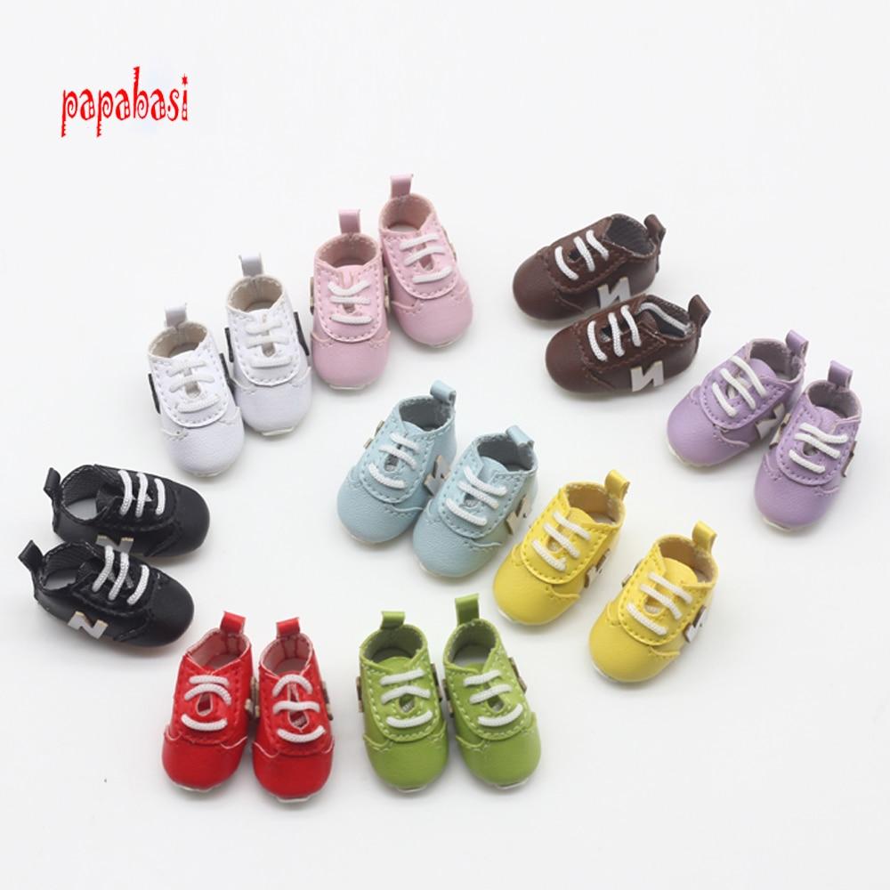 1 Pair 3.2cm Fashion Sport Shoes for Blyth, Azone, OB, Licca, Momoko 1/6 Doll Accessories