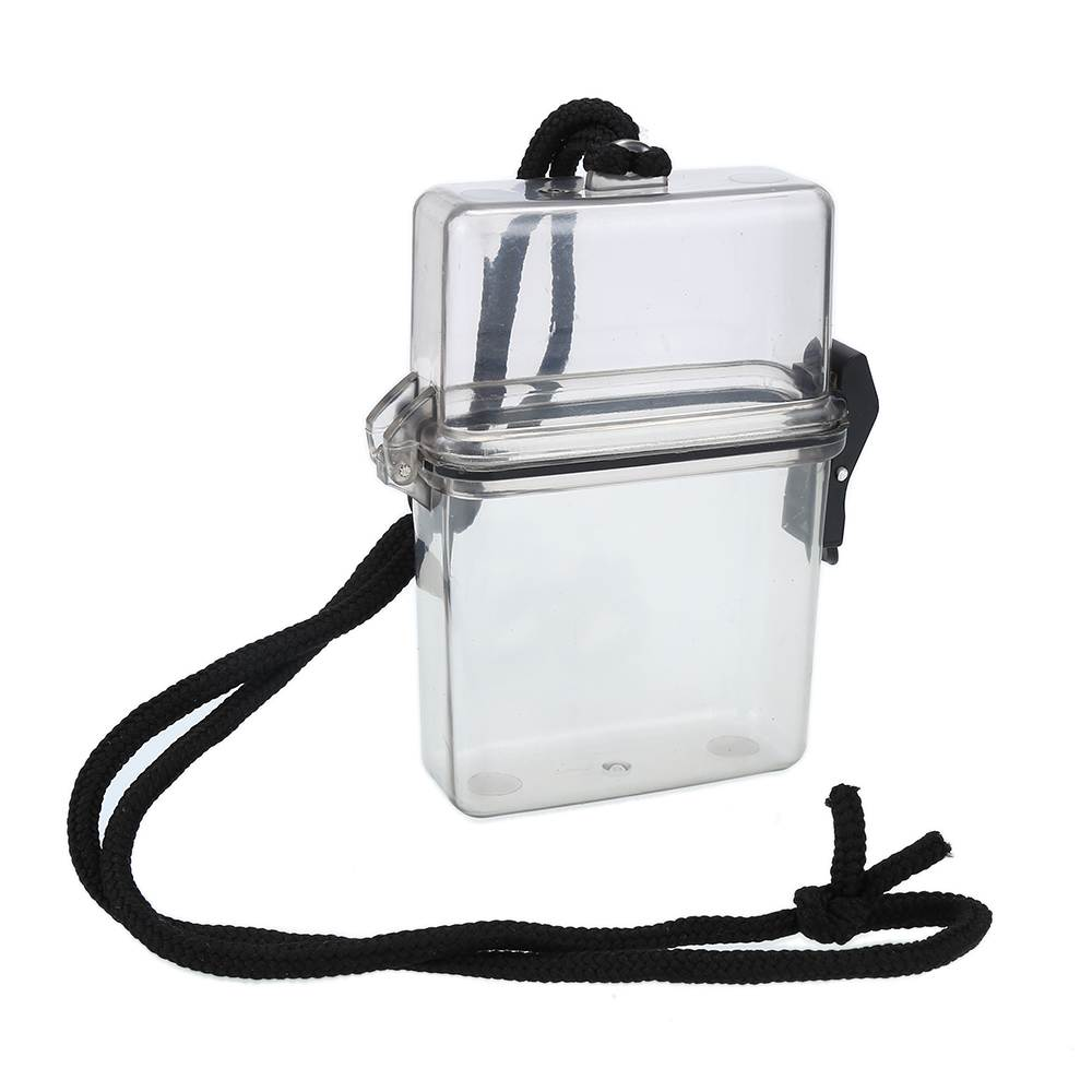 Hot New Portable Waterproof Water proof Box Case for Battery Cigarette Match Cellphone Storage