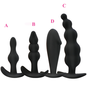 Silicone Anals Plug Butt Open Expander Dildo Prostate Massager Anal Dilator Male Masturbator Women Men Couples Gay Sex Toys(China)