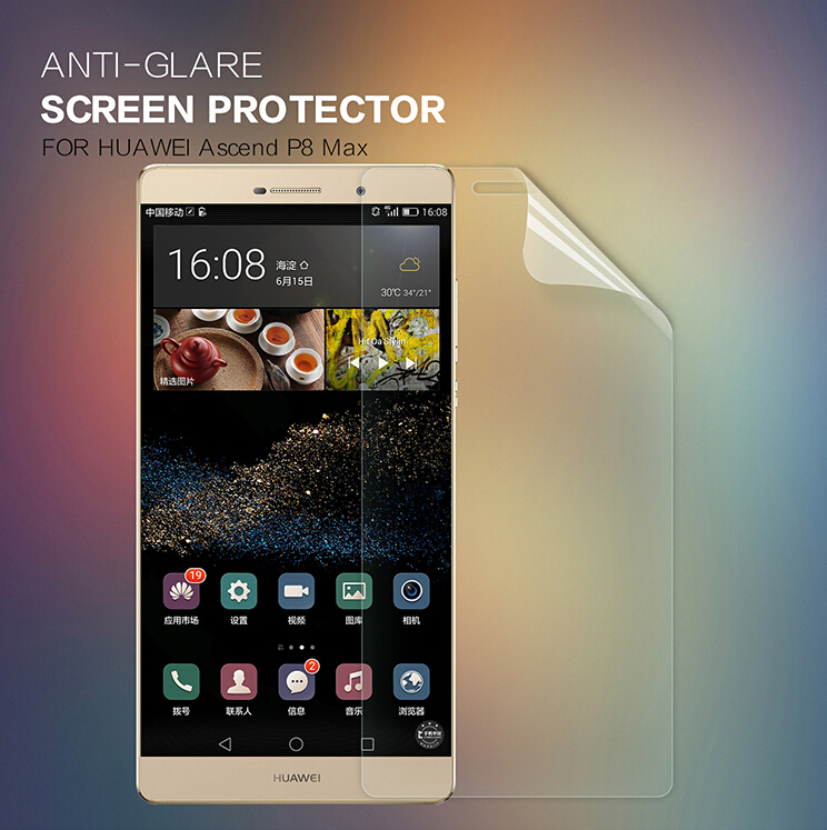 Nillkin Scrub front +camera film for Huawei Ascend P8 Max Scrub screen protector for Huawei P8 Max protective screen Scrub film