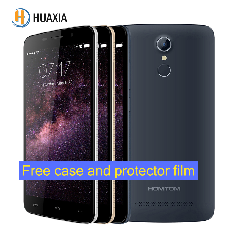 Original HOMTOM HT17 Android 6.0 Quad Core 5.5 Pulgadas 4G FDD 3G WCDMA 1 GB RAM