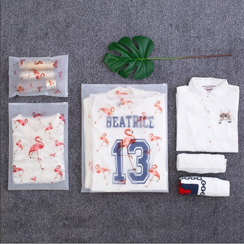 Fashion Transparent Cosmetic Bag Flamingo Travel Makeup Case Women Zipper Make Up Handbag Organizer Storage Pouch Toiletry Wash