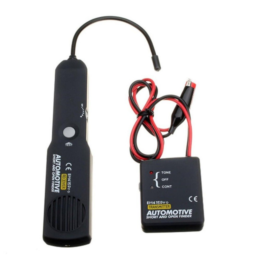 EM415pro testeur automobile câble fil court trouveur ouvert outil de réparation testeur voiture traceur diagnostiquer tonalité détecteur de ligne