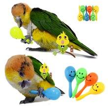 3 шт./1 лот игрушка попугай со звуком маленькие игрушки для птиц игрушки для домашних животных аксессуары Игрушки для попугая Cockatiel D411a