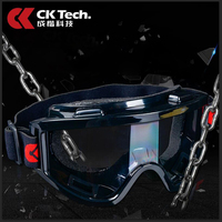 CK Sponge Protective Eyewear Protective Glasses Anti Impact Glasses Dust Goggles Glasses Wind Mirror