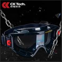 CK Tech Merk Ontworpen Veiligheidsbril Oogbescherming Eyeprotection Tegen Shock Anti-zand Splash Werken Beschermende Goggles 134