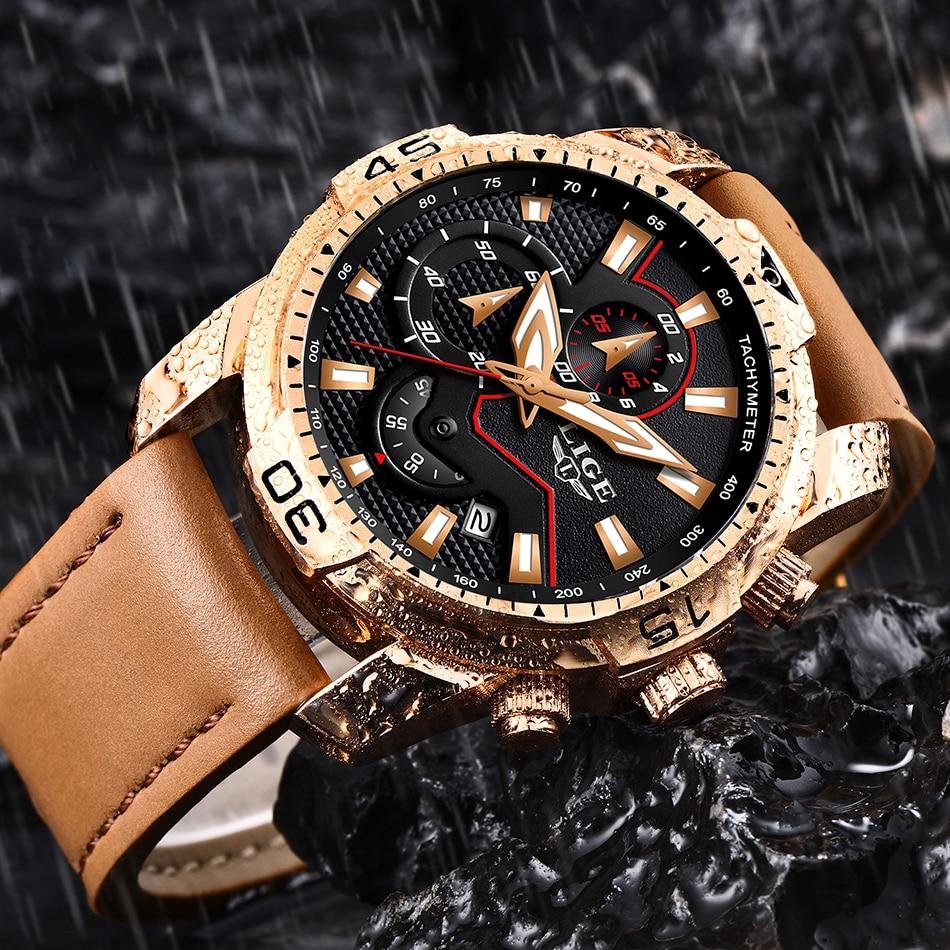 HTB1bVzlP3HqK1RjSZFEq6AGMXXaq LIGE 2019 Fashion Men's Sport Watch Men Analog Quartz Watches Waterproof Date Military Multifunction Wrist Watches Men Clock+Box