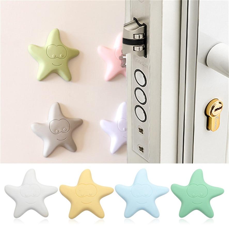 New Rubber Door Crash Pad 1PC Home Door Doorknob Back Wall Protector Savior Shockproof Crash Pad Furniture Accessories 30