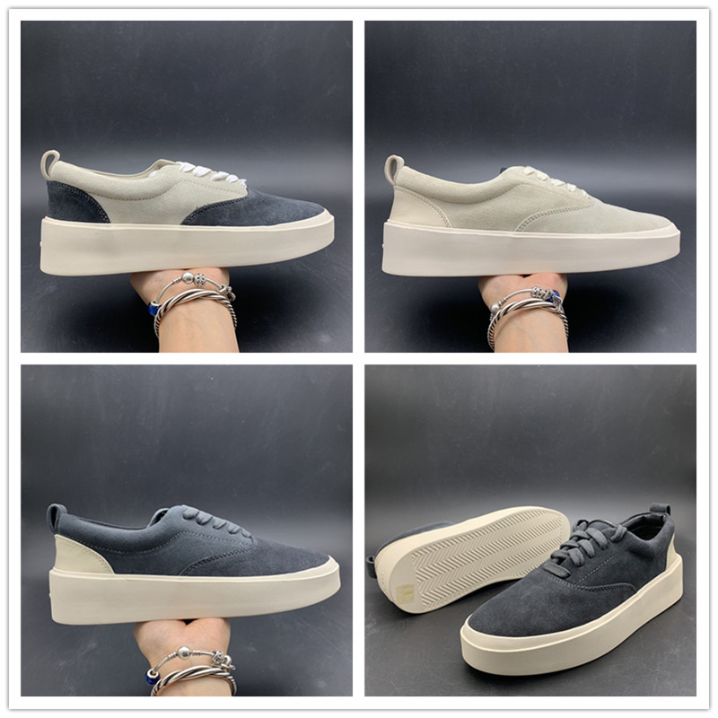 2019 Wholesales Fear God x Mens Casual Shoes The Season 5 Suede Shoes Italy Luxury Slip-On FOG Fashion Designer Shoes2019 Wholesales Fear God x Mens Casual Shoes The Season 5 Suede Shoes Italy Luxury Slip-On FOG Fashion Designer Shoes
