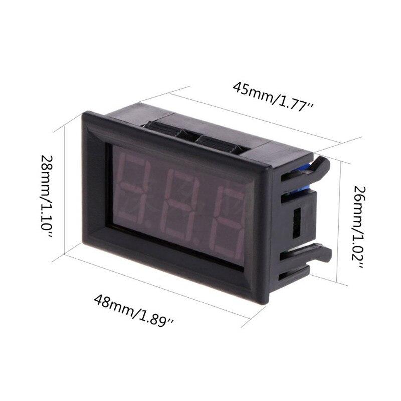 DC 12V Ugrađeni digitalni termometar Digitalni zaslon -50 ~ 110 - Pametna elektronika - Foto 4