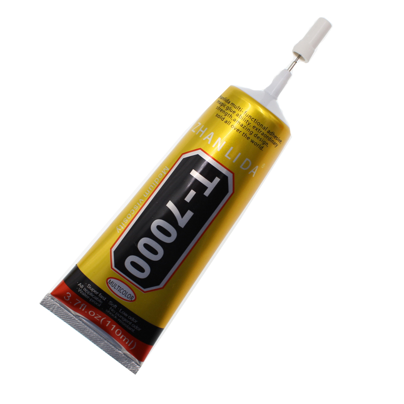 110ml Industrial Liquid T7000 Glue Textile Paper Leather Zhanlida T-7000 Epoxy Resin Conductive Adhesive B7000 Stationery Store zhanlida t 7000 50ml epoxy resin black glue repair crack lampshade move the door shoes multi purpose t7000 glue gun page 6