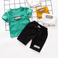 Children Clothing Set Baby Boy Clothes Summer Letter Printed New Kids Cotton Sets Baby Boy Outfit Costumes Baby Clothing Set