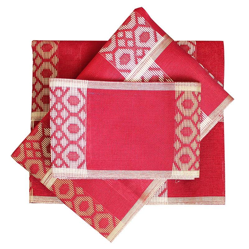 Afrikanske kvinners Aso Oke Headtie Polyester Fabric Ikke Lett - Nasjonale klær - Bilde 2