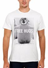 Penguin Free Hugs Funny Novelty Men Women Vest Unisex T Shirt 1354 New Shirts Tops Tee