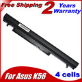 Bateria do portátil para Asus A31-K56 A32-K56 A41-K56 A42-K56 Series A56 A46 K56 K56C K56CA K56CM K46 K46C K46CA K46CM S56 S46 Series