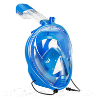 ZSPORT New 180 Full Face Diving Mask Underwater Scuba Anti Fog Snorkeling Swimming Set With Anti