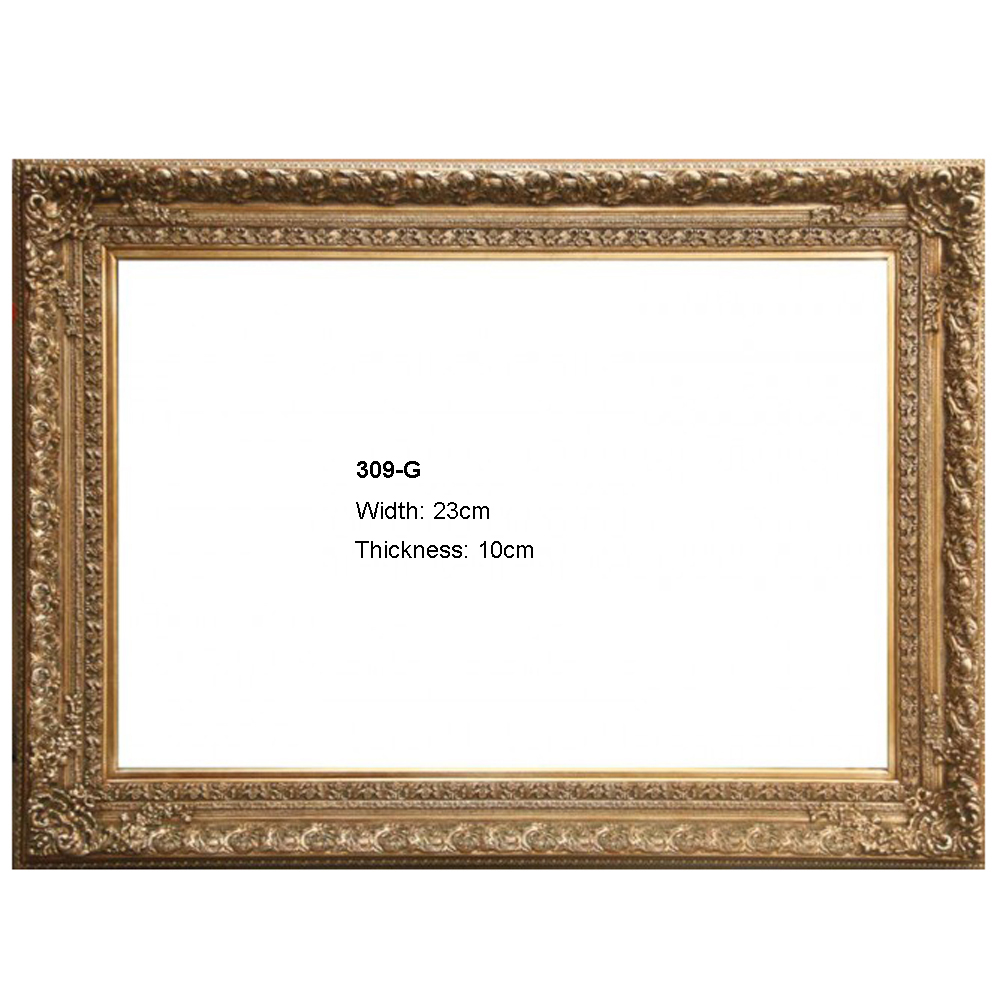 Aliexpress.com : Buy Golden wood painting frame for wedding photo ...