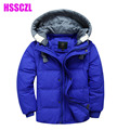 2016 unisex big boys  girls down coat children jacket short sleeve jackets detachable winter leisure thickening