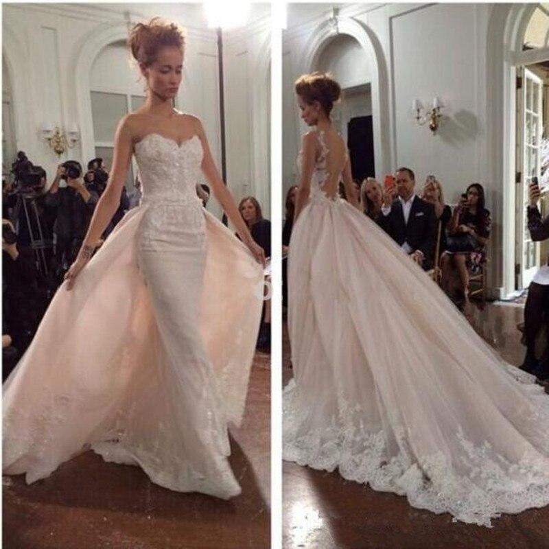Detachable Wedding Gown: Arabian Detachable Skirt White Camo Wedding Dresses Bridal