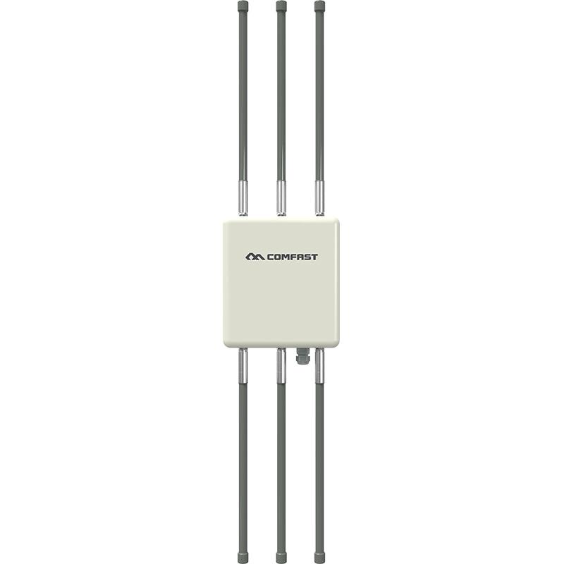 Image 3 - 1750 Мбит/с гигабитный порт PoE беспроводной Открытый AP маршрутизатор 802.11AC двухдиапазонный Wifi точка доступа AP 6 * 8dBi антенна WiFi крышка базовая станция-in Беспроводные маршрутизаторы from Компьютер и офис