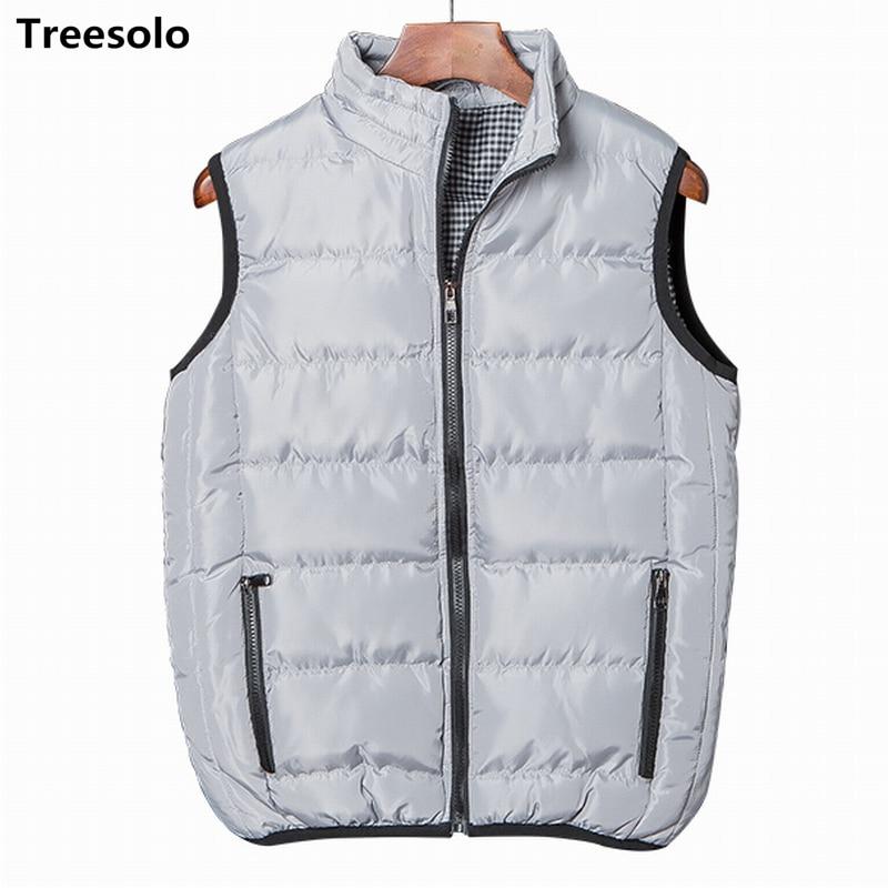 Men Thicken Waistcoat winter Casual Windbreaker travel vest photographer vest for male Loose 2018 Waistcoat Dropshipping 770