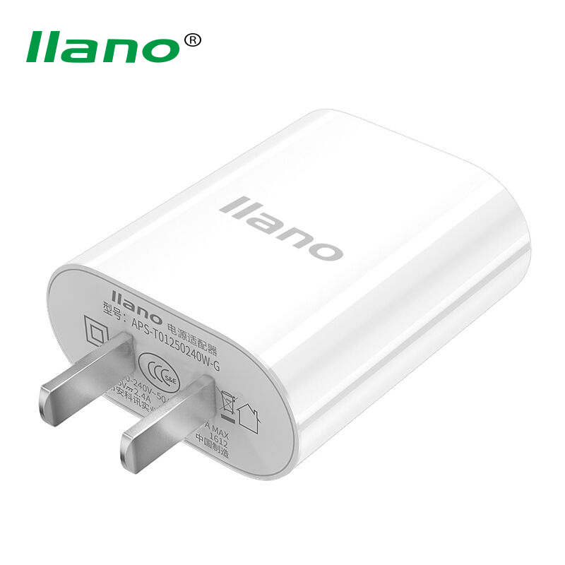 llano Universial USB Charger 5V 2.4 Fast Charging Wall Charger Adapter for iPhone 7 6 6S Plus Xiaomi Huawei Samsung HTC Tablet