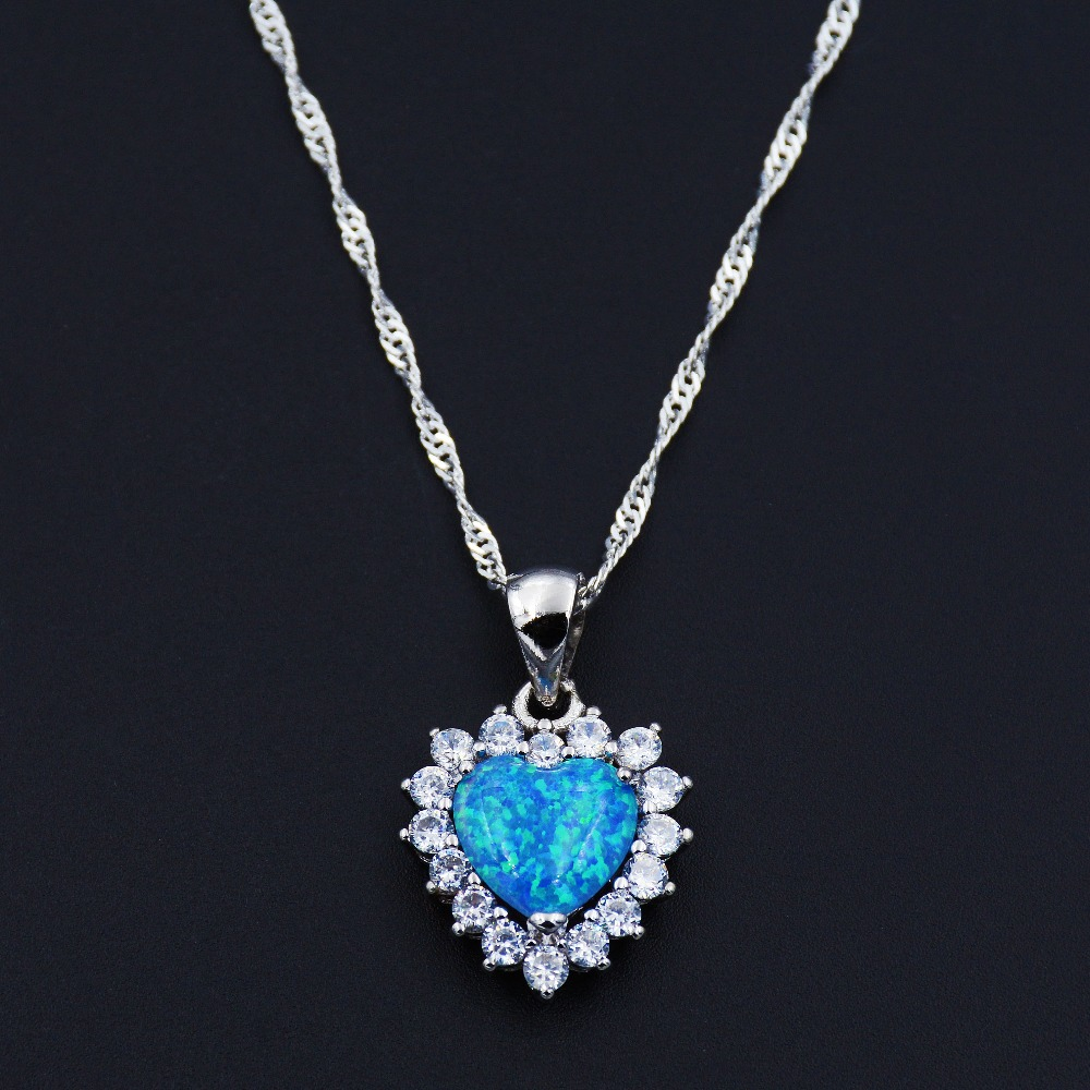 products blue round opal hp halo new york fire roselle elegant pendant