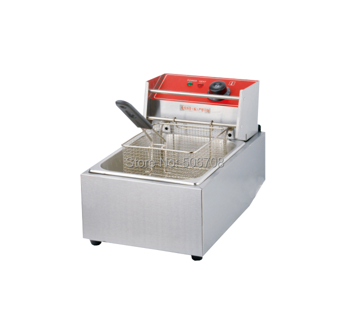 Buy 1 get 1 fryer basket Electric Stainless steel  deep fryer/ potato fryer with Temperature control buy monitor windvane