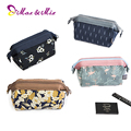 Waterproof women travel cosmetic bag large capacity Organizer makeup Case fashion multifunctional travel toiletry pouch floral