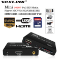 VOXLINK Мультимедийный плеер Мини Full HD 1080 P HDD Media Player TV box Поддержка HDMI MKV RM SD USB SDHC MMC HDD-HDMI (BOXCHIP F10)