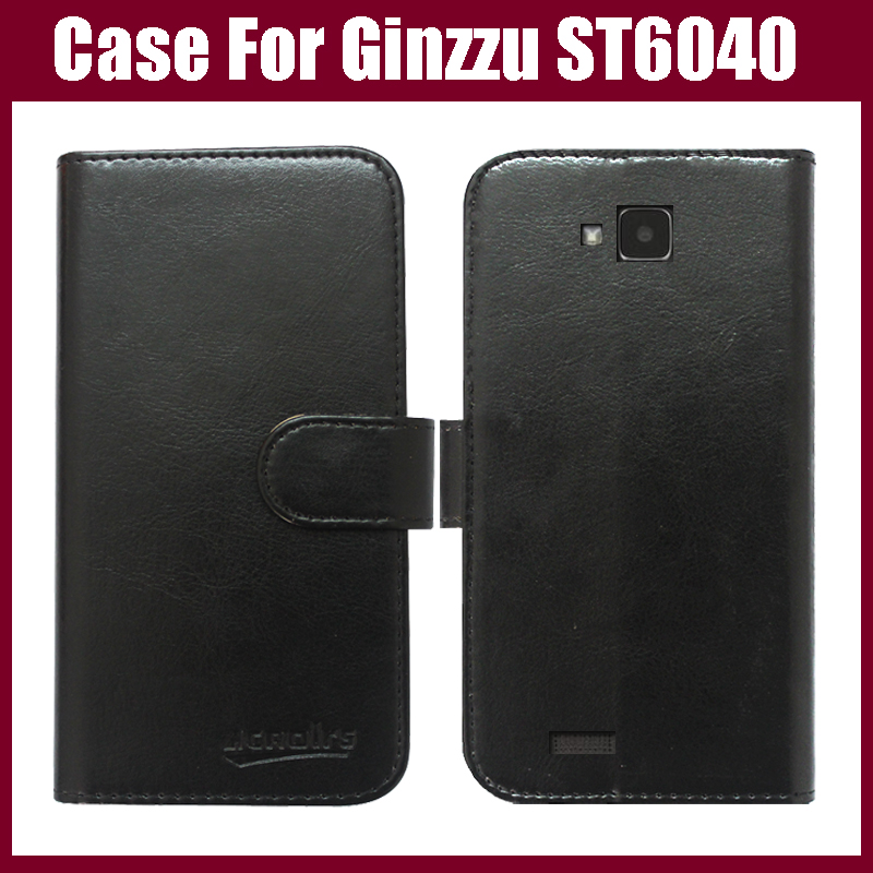 Ginzzu <font><b>ST6040</b></font> Case New Arrival 6 Colors High Quality Flip Leather Exclusive Protective Cover Case For Ginzzu <font><b>ST6040</b></font> Case image