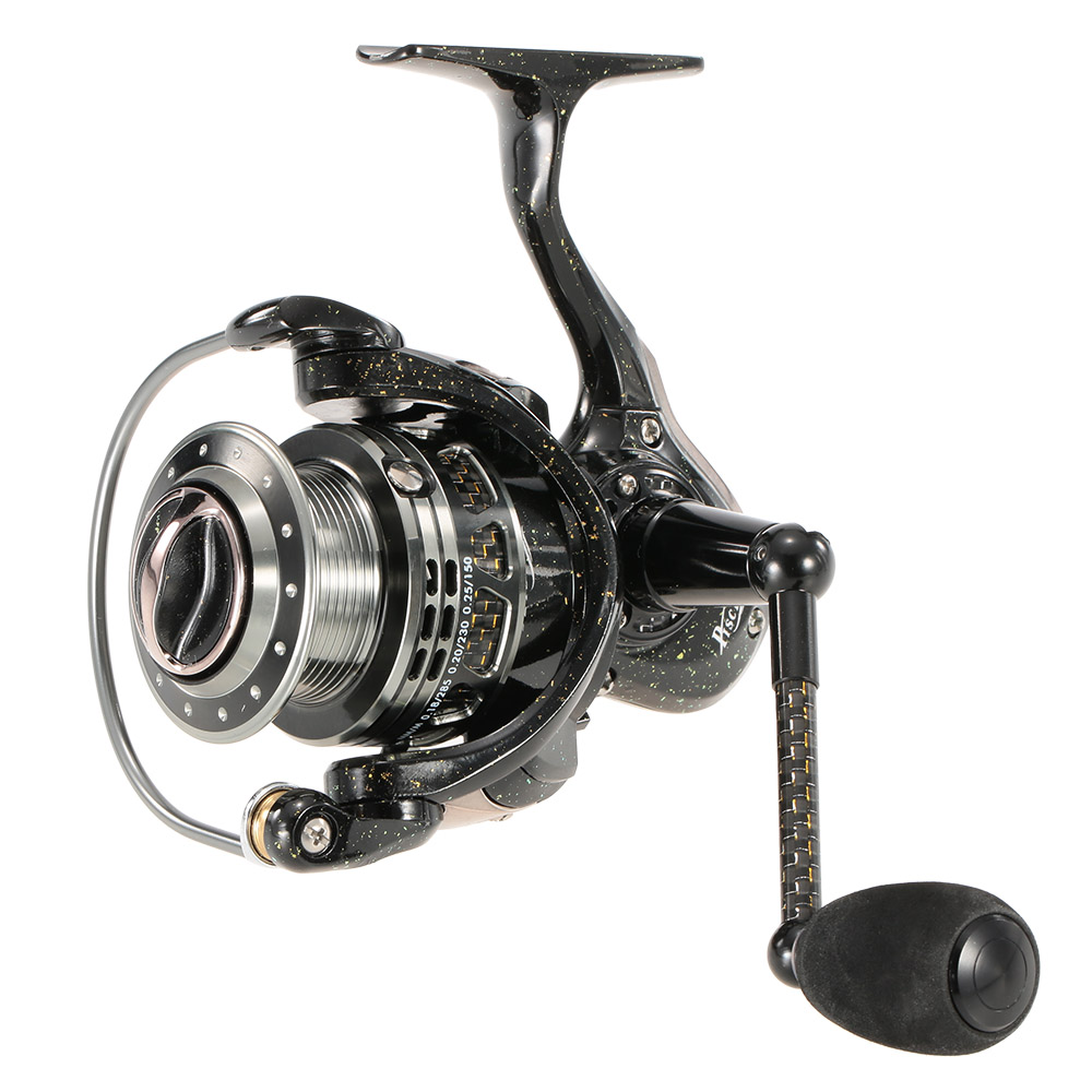 цены  High Speed 6+1 BB Ball Bearings Metal Fishing Reel Left/Right Interchangeable Collapsible Handle Spinning Fishing Wheel
