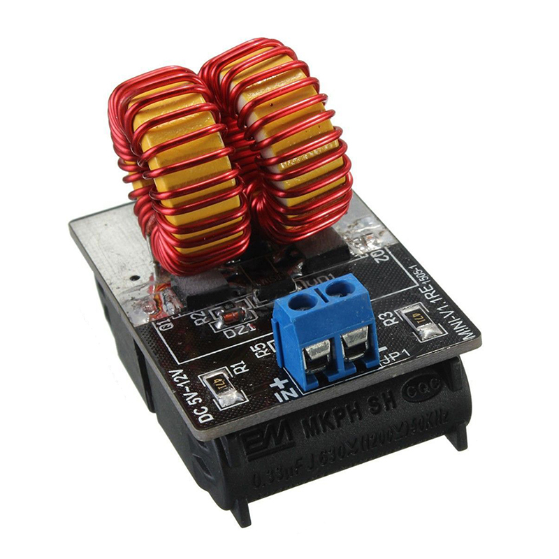 Image 4 - 5v 12v ZVS Induction Heating Power Supply Driver Board Module + Coil-in Power Supplys from Consumer Electronics