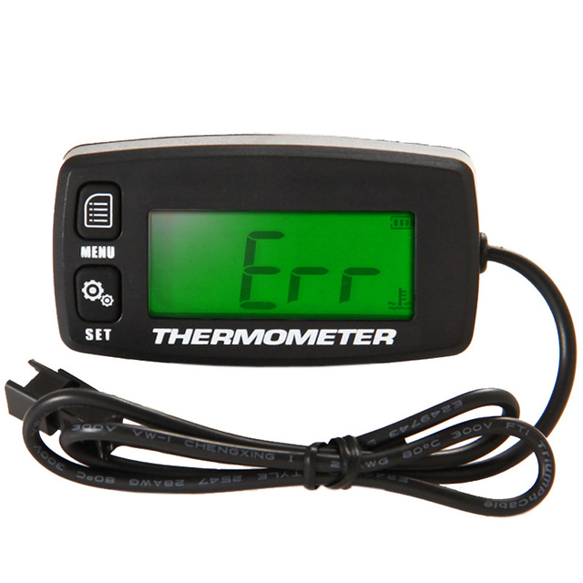 Engine TEMP METER Thermometer Temperature Meter for Motorcycle Construction Machinery Paramotor Truck Drilling Machine TM003