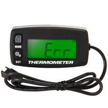 מנוע טמפ מטר מדחום טמפרטורת מד עבור אופנוע בניית מכונות Paramotor משאית קידוח מכונת TM003