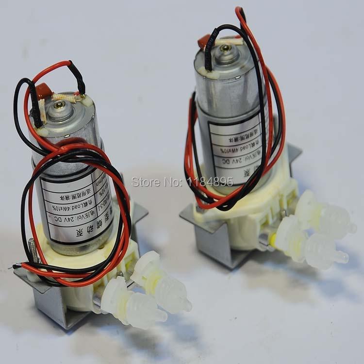 Original !! Peristaltic Pump JYY(B)-Y-RD-10-1 100-130ml/min 24V DC Ink Pump for Allwin Xenons Mutoh DX5 DX7 Inkjet Printer