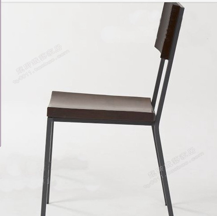 LOFT American Country To Do The Old Retro Style Dining Chairs , Wrought Iron  / Wood Chair / Study Chair / Leisure Chair Office C In Shampoo Chairs From  ...