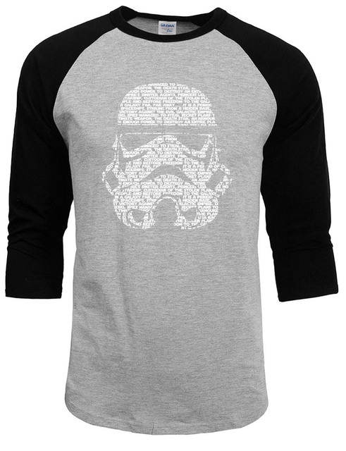 2017 new fashion summer t-shirts Star War Darth Vader brand T Shirts Men 100% Cotton O Neck Man t shirt Raglan Sleeve Mens Tops