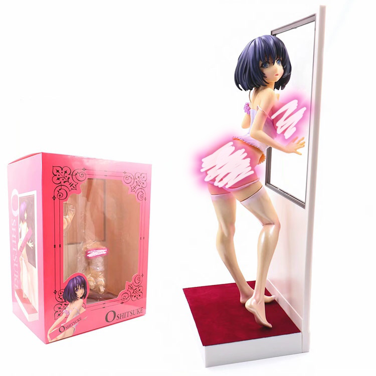 A Girl by the Window Oshitsuke PVC <font><b>Sexy</b></font> Girls Action Figure Model Toys image