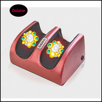 Electric Foot Massager Far Infrared Heat Electromagnetic Points Reflexology Feet Massage Leg Slimming Air Pressure Kneading Tool