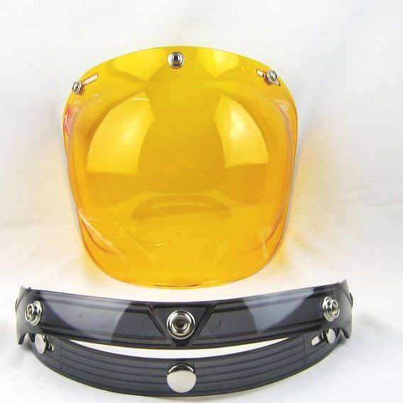 Горячая Распродажа Винтаж смотровой щиток мотоциклетного шлема объектив 3 кнопки шлем защитный смотровой щиток ПК козырек с УФ-защитой линзы подходят для TORC/BEON шлем