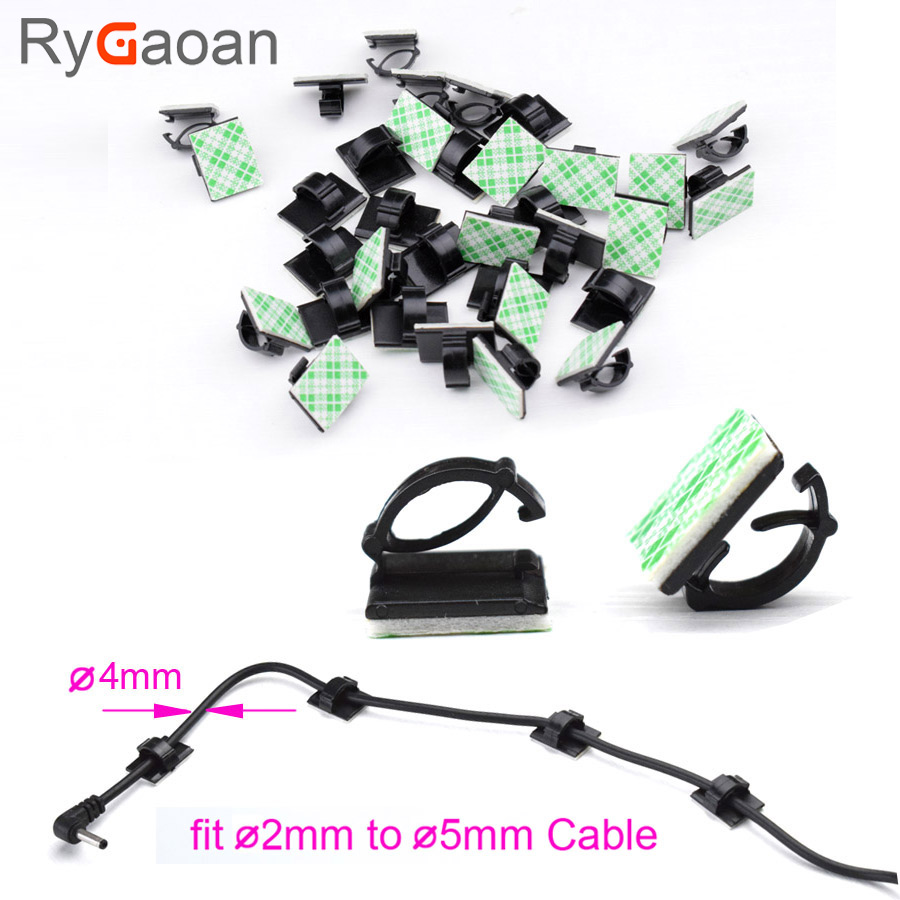 RyGaoan 30 piece Multifunctional Adhesive Car Charger Line Hs