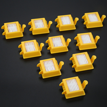 10Pcs Sweeping Robot Vacuum Cleaner Accessories HEPA Filter Replacement For IRobot For Roomba 700 Series 760 770 780 Model цены