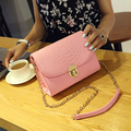 Mini Fashion Women Alligator Leather Messenger Shoulder Bag Chain Crossbody Bags Small Women's Handbag Mini Bag free shipping