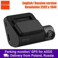 Xiaomi 70mai Dash Cam Pro Car DVR 1944P Super Clear, Optional GPS Module for ADAS, Parking Monitor, 140 FOV, Night Vision